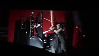 Snokes death scene Star Wars The Last Jedi Full Video