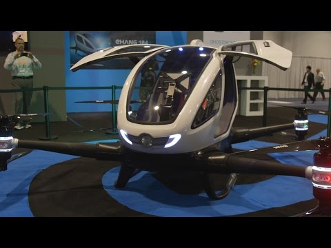 Uber, beware: Ehang's autonomous flying taxi even closer to reality