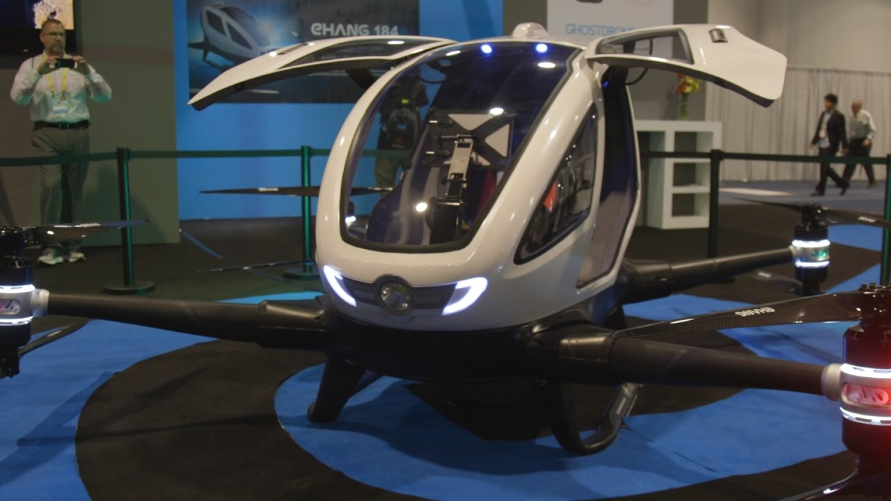 Uber Beware Ehang S Autonomous Flying Taxi Even Closer