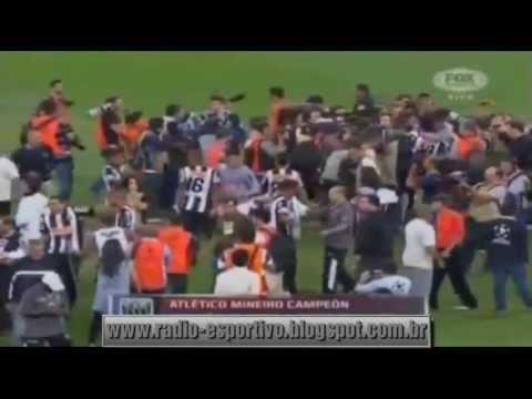 Atlético-MG 2 x 0 Olimpia ( 4x3 ) - Narração: Mário Henrique Caixa ( Rádio Itatiaia ) 24/07/2013