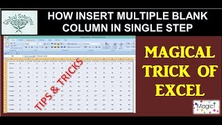 How to Insert Blanks into every other rows||Excel formulas and functions||global solutions