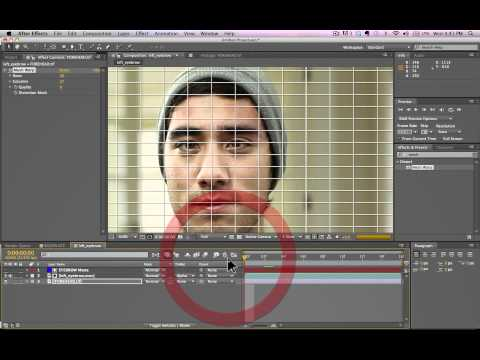 After Effects Tutorial - Using Mocha (Guy With Funny Talent)