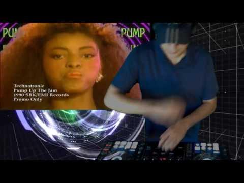 Dj SL Live Video Mix - Dance Antigo Eurodance