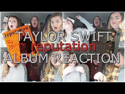 TAYLOR SWIFT'S reputation ALBUM | REACTION