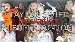 TAYLOR SWIFT'S reputation ALBUM | REACTION