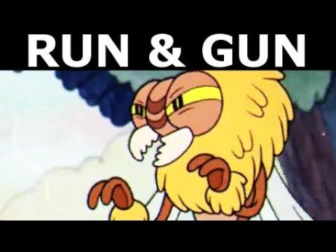 Cuphead - All Run & Gun Levels Gameplay (No Commentary Walkthrough)