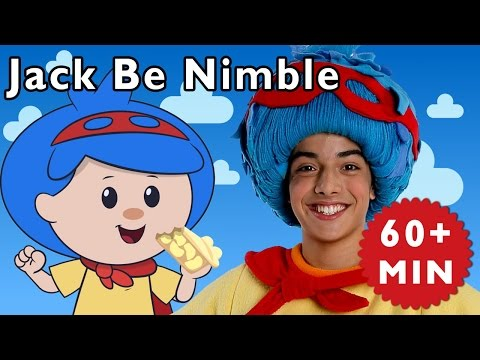 Jack Be Nimble and More | Nursery Rhymes from Mother Goose Club!