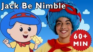 Jack Be Nimble + More | Nursery Rhymes from Mother Goose Club