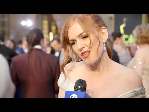 Isla Fisher Shares Sacha Baron Cohen's Joke About Leonardo DiCaprio