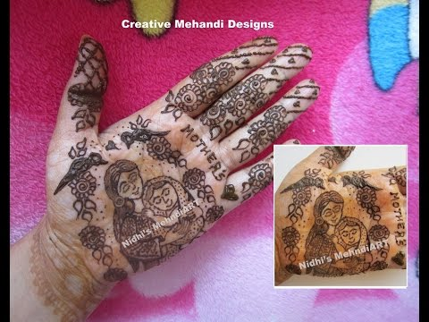 Mehndi For Shrimant : Mothers day special love baby shower godbharai shrimant
