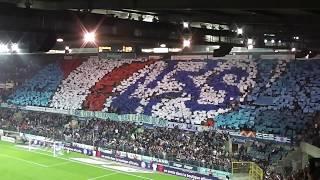 Rc Strasbourg vs Olympique de Marseille UB 90 TIFO 2017/2018 L1