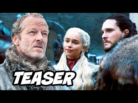 Game Of Thrones Season 8 Teaser - Daenerys Targaryen and Jorah Mormont Easter Eggs Breakdown