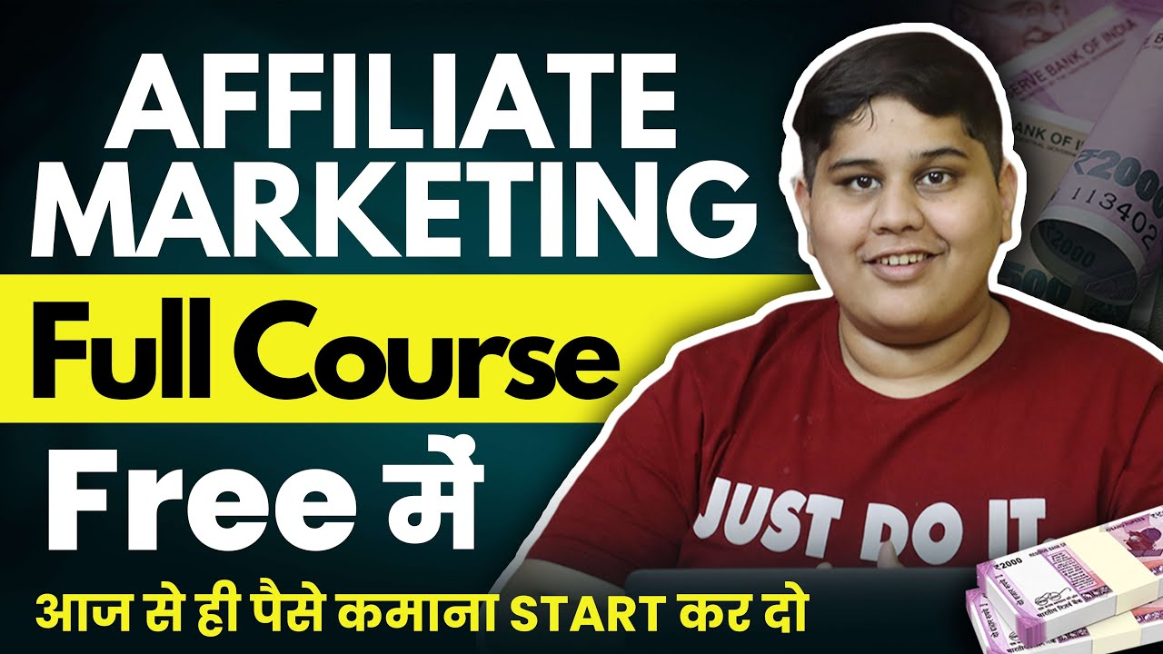 FREE Affiliate Marketing Course In Hindi | Organic Traffic Complete Tutorial | Beginners to Advanced