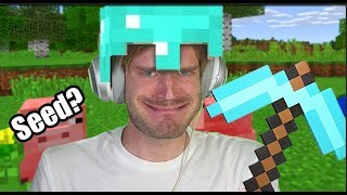 how to get PewDiePie's Minecraft World seed
