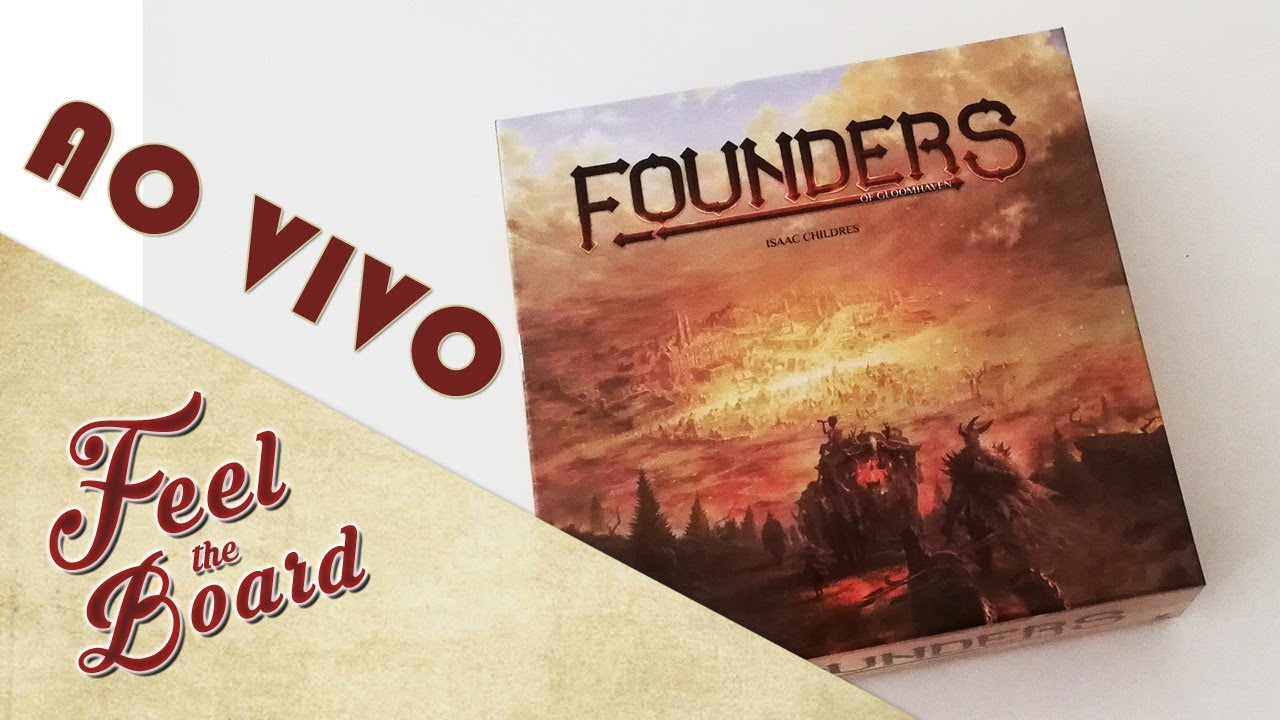 Founders of Gloomhaven SOLO | AO VIVO
