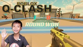 Q-CLASH ONE OF MY FAVORITE ROBLOX GAMES!