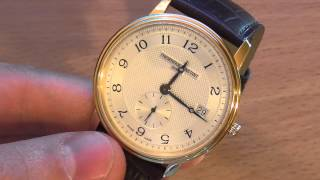 видео часы iwc