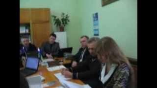 1 Угода мерів.  Щорс(Перше засідання робочої групи з розробки проекту програми