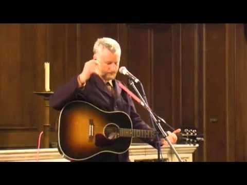 Billy Bragg's performs at the No Glory in War Concert