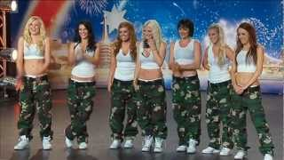 Jasmine Meakin & The Mega Jam Dancers - Australia's Got Talent 2012