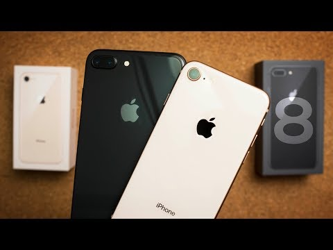 Download Youtube: A Bad iPhone 8 & iPhone 8 Plus Unboxing + First Impressions!