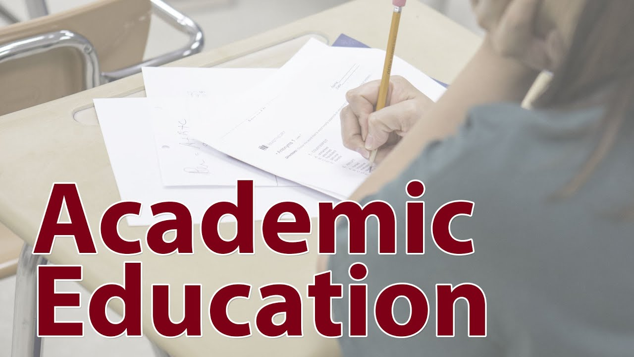 Inmate Academic Education at CCA - YouTube