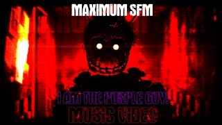 [FNaF SFM] DaGames - I am The Purple Guy (Lyrics Music Video)