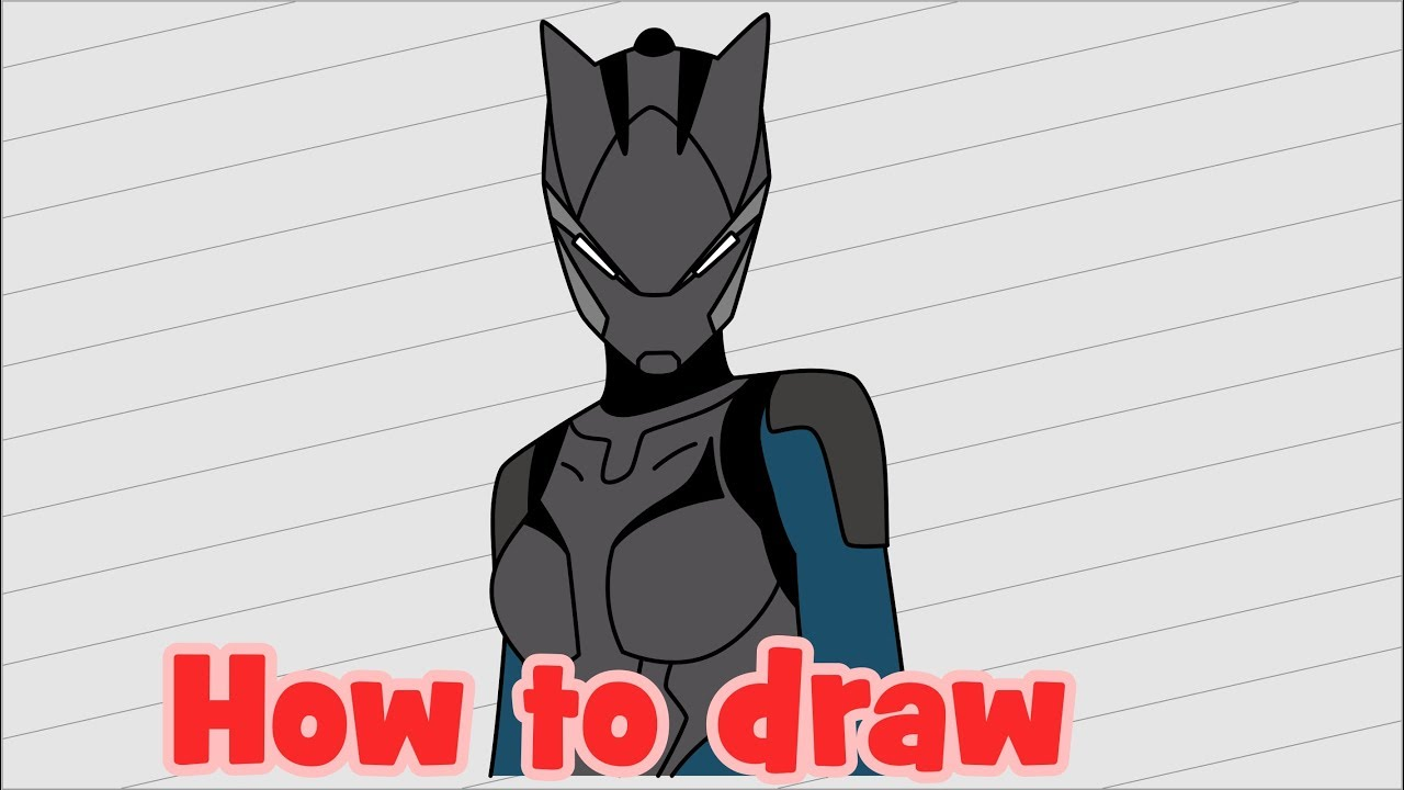how to draw fortnite characters lynx - lynx concept art fortnite