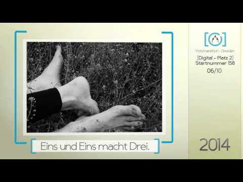 2. Platz Digital 2014 - 4. Fotomarathon-Dresden.de