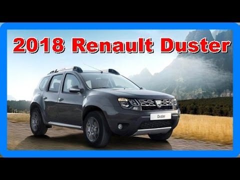 2018 renault duster redesign interior and exterior youtube. Black Bedroom Furniture Sets. Home Design Ideas