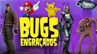 Bugs Engraçados e Curiosos - Quasar Jogos