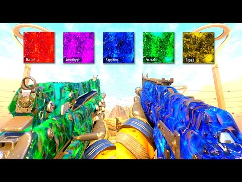5 NEW DARK MATTER CAMOS in Multiplayer!