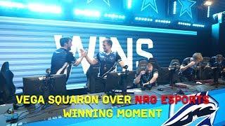 Vega Winning Moment Over NRG eSports LIVE [StarSeries S6]