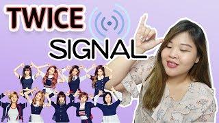 [韓語教室] Twice SIGNAL 歌詞分享 l Cher is chercher 韓語小教室