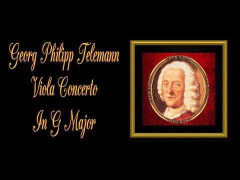 Telemann - Viola Concerto in G Major