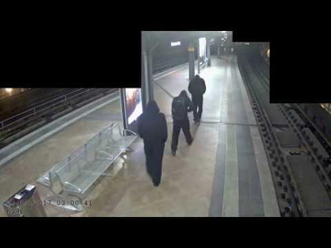 Tätervideo der Goldmünzen-Diebe