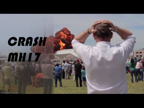 CRASH MH17 ON LIVE !!