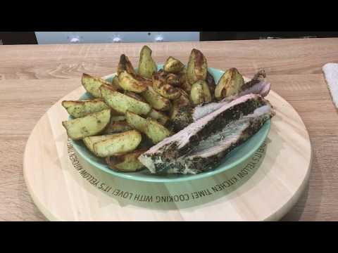 запеченная картошка с индейкой в духовке рецепт пошагово