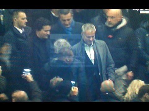 Mourinho il saluto di San Siro - Inter Sampdoria 3 1