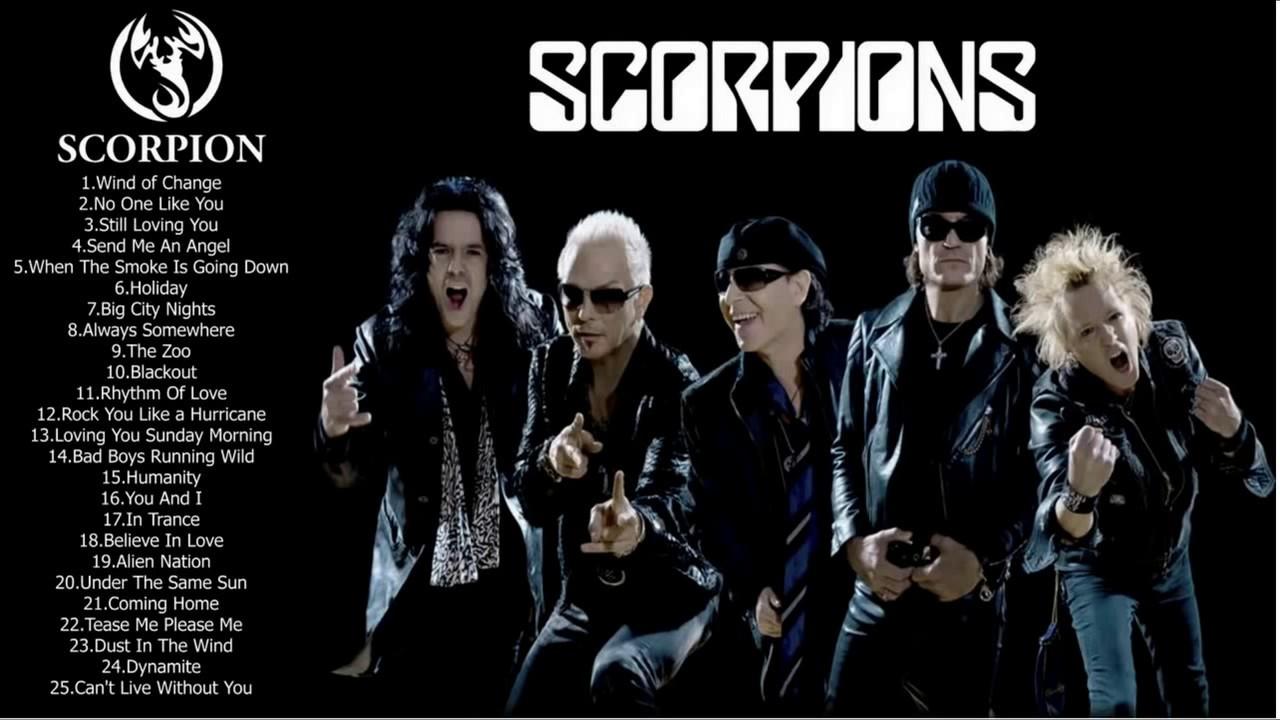 Scorpion Best Songs - Scorpion Greatest Hits Full Album 2017