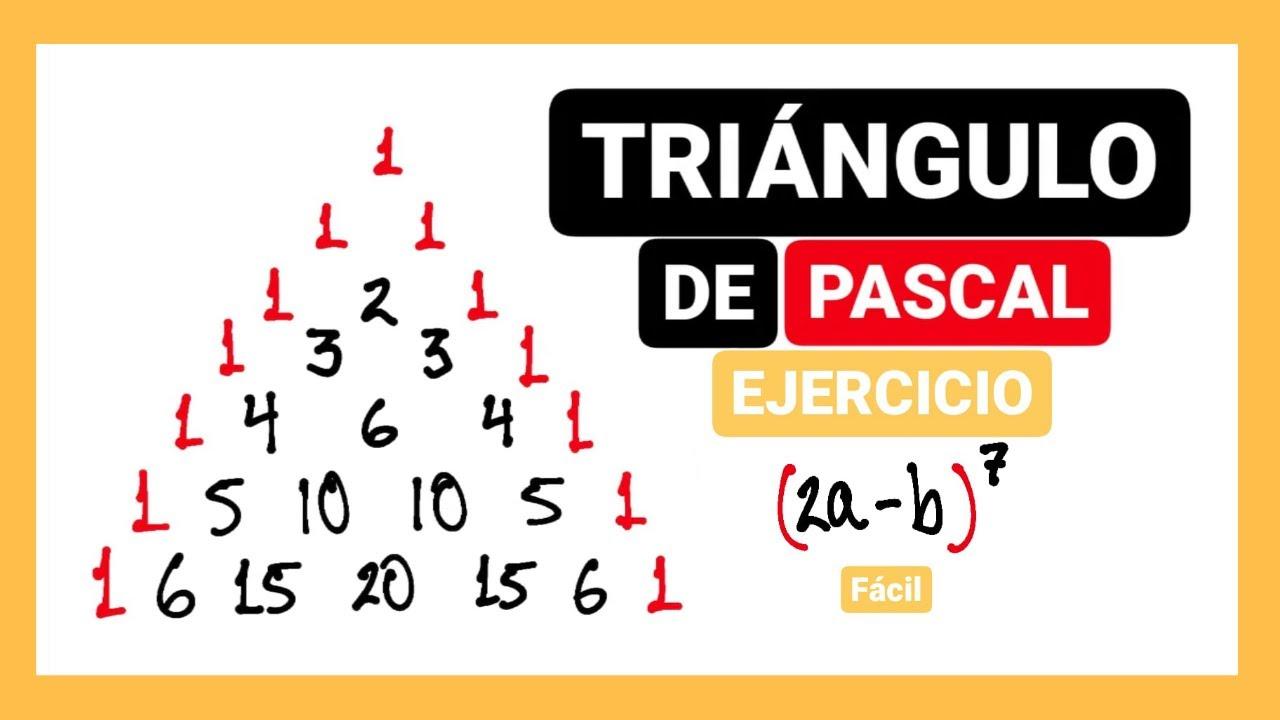 Triángulo de Pascal | Ejercicios