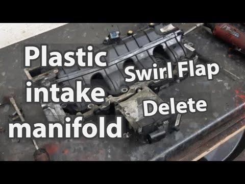 Alfa 159 Saab Vauxhall plastic manifold swirl flap delete guide