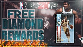 THESE DOMINATION REWARDS ARE INSANE! SUPER OVERPOWERED CARDS! FREE DIAMONDS! NBA 2K18 MYTEAM