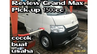 Review Grand Max Pickup 1.5L Manual 5speed, 2018 Indonesia