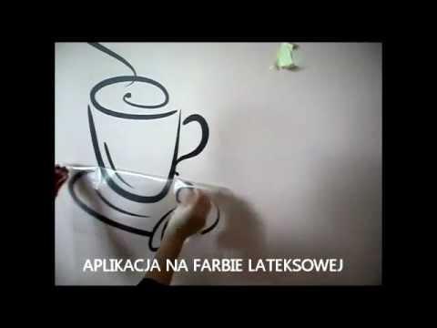 Instrukcja Naklejania Naklejki Farba Lateksowa Wikam Com Pl Youtube