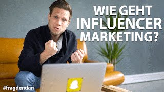 💡WIE FUNKTIONIERT INFLUENCER MARKETING?💡  | #FragDenDan