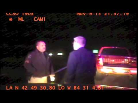 Watch arrest of Michigan lawmaker charged with 'super drunk' driving