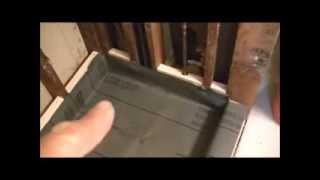 How To Install Showerpan Liner & Mortar