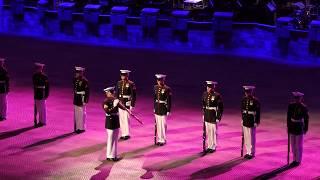 Norwegian Military Tattoo - The US Marine Corps Silent Drill Platoon - 2018-04-21 Oslo