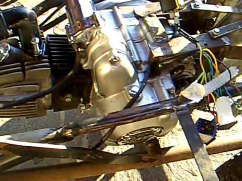 homemade racing mower 125ccm lifan pit bike engine. Black Bedroom Furniture Sets. Home Design Ideas